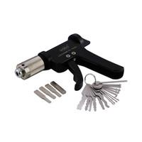 anahtar silahlar toptan satış-Yeni Değer Seti 16 ADET Oto Tuşları Kilit Seçim Setleri Profesyonel Kullanılan Çilingir Araçları + fiş Spinner Hızlı Goso Otomatik Pick Gun Kapı Kilidi ...