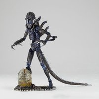 Wholesale Neca Movie - Hot Movie Cool Aliens Mode Action Figure Series Key Ring Kenner Alien NECA Toys for Boys