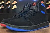 Wholesale Quai 54 - 2017 new top version Quai 54 mens basketball shoes men,fashion outdoor men shoes 1s trainers retro 1 sneakers,size 40-46