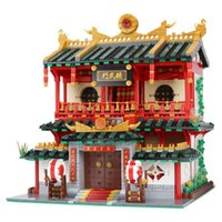 Wholesale Martial Arts Toys - XingBao 01004 The Chinese Martial Arts Set 2531pcs with Original Box for Reselling Lepin Blocks Creative Building Series XB01004 Lepin Toys