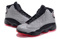 Wholesale Gold Shoes For Girls - 2017 Air Retro 13 Kids Basketball Shoes Children 13s High Quality Sports Shoes Youth Boy Girl Basketball Sneakers For Sale EU28-35