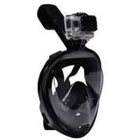 Wholesale Snorkel Tube - Snorkeling Full Face Diving Mask Set With 2 Inside Breathing Tube For Scuba Diving Three Color