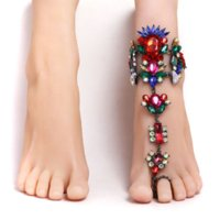 women beautiful anklet female bracelets tattoos ankle jewelled tattoo for bracelet