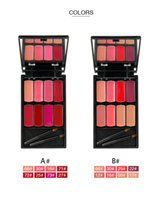 Wholesale Pro Charms - Dropshipping Menow L501 of 2 colors: L1501-A and L1501-B Beauty 8 Charming Colors Pro Lip Gloss Lipstick Cosmetic Makeup Palette