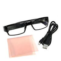 videocámara al por mayor-1080P HD Gafas de Video Digital Cámara de Seguridad Gafas DVR Mini DV Grabador de Video Videocámara Portátil Gafas Grabadora de Vídeo 10 unids DHL