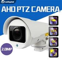 Wholesale Manual Focus Cameras - 1080P AHD CCTV Camera 4X ,10X ZOOM Auto-Focus Manual Varifocal Zoom Lens 1 3CMOS 4pcs Array IR LEDS Outdoor Bullet Camera