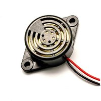 Wholesale Alarm Buzzer Sound - 95DB Alarm High-decibel 3-24V Electronic Buzzer Continuous Beep for Arduino 2 Color Wired Piezo Electronic Tone Big Sound Voice Buzzer Alarm