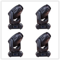 Wholesale Spot Moving Head Light Wash - 4pcs lot Wedding equipment 280w 10R sharpy beam moving head light , 280w beam spot wash 3 in 1 home party disco lighting