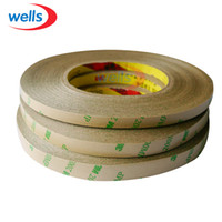 Wholesale Double Sided Adhesive Strips - Wholesale-50M Roll 8mm 10mm 12mm Double Sided Tape 3M Adhesive Tape for 3528 5050 ws2811 Led strips