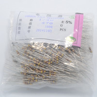 Wholesale Wholesale Leds Resistors - Wholesale- Wholesale 1000 pcs 470 Ohm 470R 5% Carbon Film Resistors 1 4W Ideal for 12V LEDs free shipping