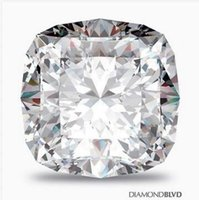 AAA square cushion cut diamond - 10 ct G VS1 Ex Polish Square Cushion GIA Certified Diamond x12 x8 mm