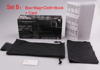 Wholesale Factory Cloths - Sunglasses Retail Packages with box,bag  pouch, cloth,book , zipper case Good quality Factory Price retai packages for brand sunglasses