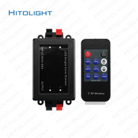 Wholesale Rf Dimmer Switch - HITOLIGHT DC12-24V LED Dimmer Switch with Wireness RF 11 Keys Remote Control Adjustable for 5050,2835 LED Single Color Controller
