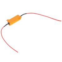 led flash rapido al por mayor-Auto Car Vehicle 4Pcs Profesional 50W Carga Resistor 6ohm Fix LED Bulb Fast Hyper Flash Turn Signal Light Bulb