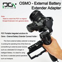 Wholesale External Battery Adapters - External Battery Extender Adapter Connector to Carry P4 Battery For OSMO