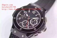Wholesale Big Bang Dive - Luxury AAA luxury brand watches 44mm the big bang Rubber Watch with men quartz chronograph Mens Watch diving watch