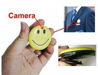 Wholesale security digital card for sale - Group buy Smile Face Mini DV with Clip Security Mini Camera Digital Video Recorder mini camcorder support GB TF card