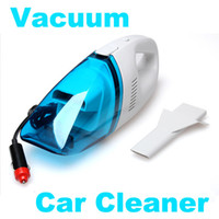 Wholesale 12v Portable Vacuum - Wholesale-Hot sale High quality 12V Portable Handheld Car Vacuum Cleaner Wet & Dry Outdoor Mini Car Van Truck Boat RV car styling