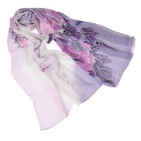 Wholesale Wholesale Bird Print Scarves - Wholesale- New 2016 Fashion Soft Thin Chiffon Silk Scarf Women Animal Bird printed Scarves Foulard Sjaal Cachecol Feminino Free Shipping