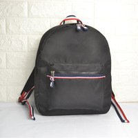 Wholesale recommend unisex new solid color nylon fashion good quality backpack