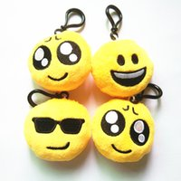 Wholesale Doll Phone Charms - Kawaii Rare Squishy Jumbo Squishys Toys Steamed QQ Expression Squishies Straps Pendant keychains Phone Charm Dolls