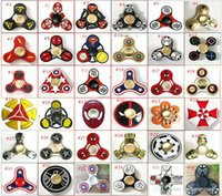 speed animal - Deadppol Fidget spinner captain america New Mutants cartoon styles Hand Spinners high speed EDC Toys deadpool pattern with retail package
