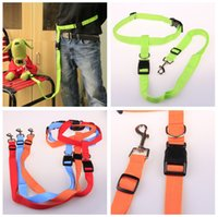 sports suites - Pet supplies Fitness sport running Nylon Waist belt and Dog Leashes suite cm width adjustable dog leash colors