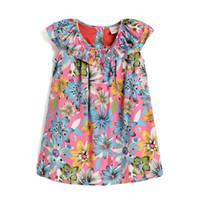 Wholesale New Style Professional Dresses - New design kids professional dresses for girls Elegant temperament dress girls summer wear XA008