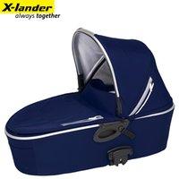 Wholesale Baby Sleeping Basket Portable - Wholesale- Xlander portable cart newborn baby carrycot sleeping basket luxury portable basket,assemble to stroller