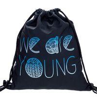 Wholesale Japanese School Bag Wholesale - Wholesale- Drawstring Bags and backpack from hip-hop Japanese Harajuku Retro Cinch Sack Pack School Kids Mens Bag BP039