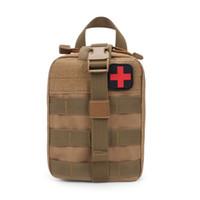 ilk yardım çantası torbaları toptan satış-Ilk Yardım Kiti Açık Havada Tıbbi Bakım Saklama Çantası Oxford Kullanır Ultra Geniş Kapasiteli Depolama Taktik Çanta 35jd J1