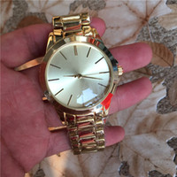 Wholesale Simple Gold Design - Zeland Watch 2016 New Fashion Simple Design Women Gold Watches Dress Stainless Steel Quartz Montre Clock Relogio Relojes De Marca Wristwatch