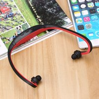 Wholesale Mp3 Player 2gb Sport - 2GB Sports Professional Wireless Running Playing Outdroor Headphone MP3 Music Player Headset Headphone Earphone TF Card Slot