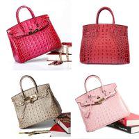 Wholesale Leather Handbags Usa - Europe and the USA fashion leather handbags large bags 2017 new leather platinum ladies handbag shouder bag cross body bag