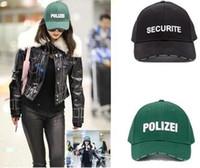 Wholesale Ball Bang - New POLIZEI SECURITE vetements Embroidery hat Baseball Cap adjustable Big Bang snapback hat