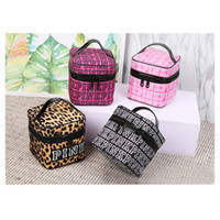 Wholesale Pink Storage Boxes - Pink Cosmetic makeup Storage PINK Tote Bags akeup Bag Travel Cosmetic Bag Box Makeup Case Pouch Toiletry Organizer
