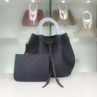Wholesale latest ladies bag style resale online - 2019 latest hot lady high recommend L fashion Girolata style handbag drawstring woman bucket bag totes crossbody shoulder bag