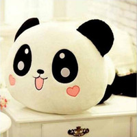 Lovely Stuffed Animals Panda Stuffered Plush Toy Lie Prone Bear Presentes de férias Best Birthday Gift Christmas Gift