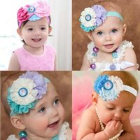 Wholesale Headbands Hairband Hair Clips - Frozen hairband baby hairs accessories clips shabby headbands for babies headbands for babies girls Baby headbands with rhinestone embel