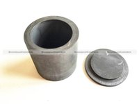 Wholesale Purity Silver - Wholesale- High Purity Graphite Casting Melting Crucible 30*40mm for Gold Silver With Lid 71116954