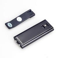 Wholesale Mp3 45 - 10pcs lot Voice Activated Mini Clip 8GB 16GB USB Spy Pen Digital Audio Voice Recorder MP3 Player 45 Hours Recording