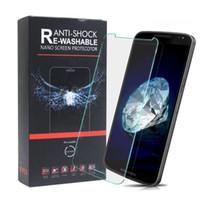 protector de pantalla de vidrio a prueba de explosiones al por mayor-Para Iphone 7 Nano Protector de pantalla suave A prueba de explosiones 9H 0.15mm Vidrio templado Para iphone 7 más Iphone 6s plus Con embalaje al por menor