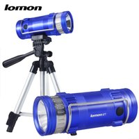 Wholesale Zoom Baits - Professional Fishing Lamp CREE XPE 2 Color White Blue 3 Modes Zoomable LED Rechargeable Fishing Lights with Tripod Bait Zoom Flashlight Hot