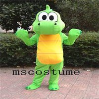 2017 Adulto Dimensione Halloween Halloween Verde Mascotte Bambole Costume Dress Up Vestire Fancy Party