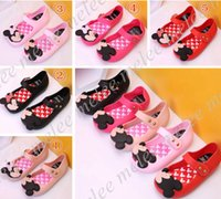 Wholesale Girls Sandals 11 - Girls Mini Melissa Shoes Summer girls Sandals Clogs Cute Girls shoe Children Mitch Baby Shoes For Girl shoes size EU24-29 mini melissa