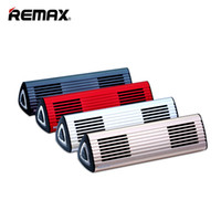 Wholesale Remax Cards - REMAX M3 Music Eyes Bluetooth Speakers Bluetooth4.0+EDR Support AUX Hands-free Phone Call Multifunction Player for iphone 8 S8 Mobile Phone