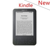 Wholesale E Readers Kindle - Wholesale- New condition kindle 3 e-ink ebook reader keyboard ink screen 4GB e book with mp3 ereader books have kobo in stock without box