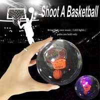 Wholesale Shooting Games Basketball - 2017 Handheld Basketball Player Mini Basketball Shooting Game with LED Light and Applause Sound EDC Decompression Fidget Toys OTH540