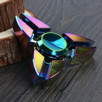 Wholesale Toy Factory Wholesale - 2017 new Fidget Spinner Colorful EDC Gyro Toys Hand Spinner Fidget Aluminum Fidget HandSpinner Professional Factory Direct Sales