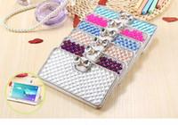 Wholesale Case Galaxy Note Minions - Minion diamond fox head phone cases rabbit fur hair phone cover for samsung galaxy note S4 5 6 7 edge